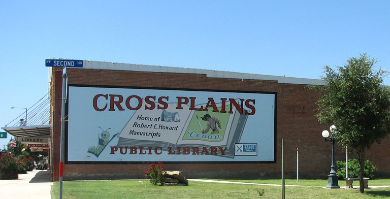 library mural and park